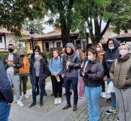 """МИГ """"Панагюрище, Стрелча, Лесичово"""" посрещна младежи от пет държави и успешно финализира проект"""